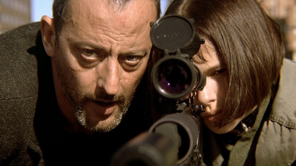 Jean Reno et Nathalie Portman dans Léon